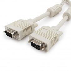 Кабель VGA(D-Sub) (15M-15M)  1.8м Cablexert CC-PPVGA-6 Premium тройной экран, феррит.кольца