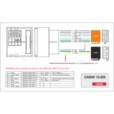 ISO-переходник Carav 12-025 VW Golf5,Passat B6,Touran,Touareg,Multivan,Jetta,SKODA  Octavia2