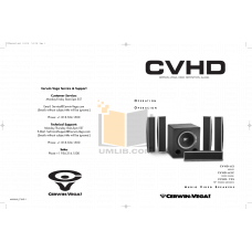 Сабвуфер Cerwin-Vega CVHD center