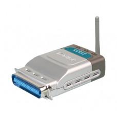 Принт-сервер D-Link <DP-G301> беспроводный 802.11g, LTP