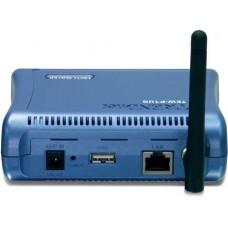 Принт-сервер TRENDnet <TEW-P1UG> беспроводной принт-сервер 11g USB 2.0