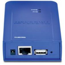 Принт-сервер TRENDnet <TEW-MP1U> беспроводной 1 порт USB