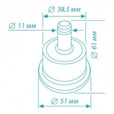 Набор заглушек для крестовины, 5 штук в коробке (+HT-35) <FootSet35>