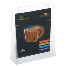 Card Reader Ext. Konoos <UK-24> (SD/SDHC/MMC/microSD/MS/M2)