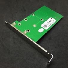 Адаптер miniPCI-Ex --> SATA Espada <FG-AST02A-1-BC50>  в слот (питание от USB/SATA)