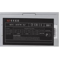 Блок питания ATX  500W Accord ACC-500-12 (24+4pin) 4*SATA I/O switch