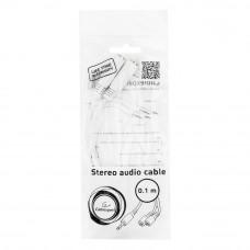 Кабель Audio MiniJack(m) - 2*MiniJack(f) Cablexpert <CCA-415W> разветвитель