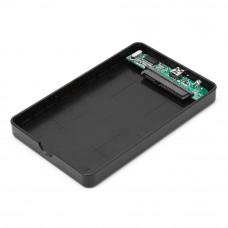 "Flexi-Drive EXT Gembird  SATA USB2.0, 2.5"" <EE2-U2S-40P> черный, пластик"