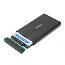 """Flexi-Drive EXT Gembird  SATA USB2.0, 2.5"""" <EE2-U2S-5> черный, металл"""