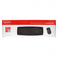 Клавиатура+мышь Gembird KBS-8000 беспр. USB