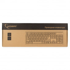 Клавиатура Gembird KB-8300-BL-R Black PS/2