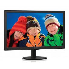 """Монитор 21.5"""" Philips 223V5LSB (00/01) Glossy-Black TN LED 5ms 16:9 VGA, DVI 10M:1 250cd"""