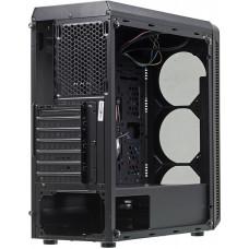 Корпус Accord JP-X черный без БП ATX 2xUSB2.0 1xUSB3.0 bott PSU