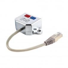 Переходник <NCA-SP-02> FTP 1 порт RJ45 (T568A/T568B) -> 2 порта RJ45 10/100 BASE-T