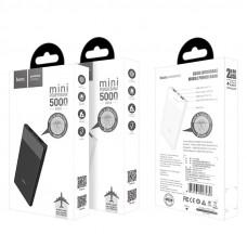 Мобильный аккумулятор Hoco B35D, 5000мА/ч,USB, 1A, черный