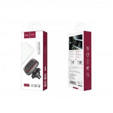 Автомобильный держатель для смартфона Hoco CA23, на дефлектор, магнитный, черный