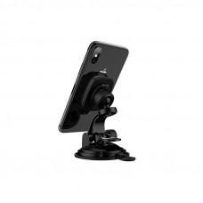 Автомобильный держатель для смартфона Hoco CA28, торпедо, магнитный, черный