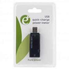Измеритель мощности USB порта Energenie <EG-EMU-03> до 30V/5A, поддержка QC 2.0 и 3.0