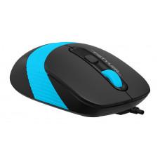 Клавиатура+мышь A4 Fstyler F1010 черный/синий USB Multimedia