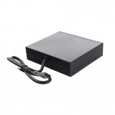 "Card Reader Int.3.5"" <Black> Gembird FDI2-ALLIN1-02-B"