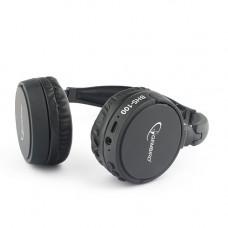 Гарнитура Gembird BHS-100 черный беспроводные bluetooth v.5.0