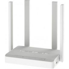 Маршрутизатор Keenetic Duo AC1200 10/100BASE-TX/xDSL/4G ready, 4 x 10/100Base-TX, USB-порт белый