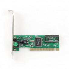 Сетевая карта PCI Gembird NIC-R1 10/100Мбит/с, чипсет RTL8139C