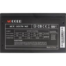 Блок питания ATX  500W Accord ACC-500W-NP (24+4+4pin) 120mm fan 4xSATA