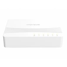 HUB Hikvision <DS-3E0505D-E> 5-port Gigabit Switch, plastic case
