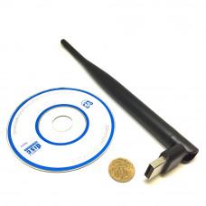 Адаптер Espada <UW600-2>, 600 Мбит/c  с внешней антенной <43443>