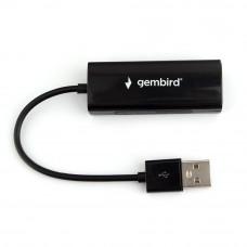 Адаптер Gembird <NIC-U2> USB 2.0 - Fast Ethernet